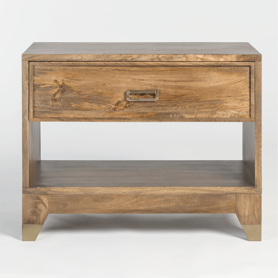 Everette One Drawer Night Stand - Monroe & Kent Home