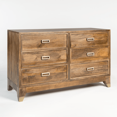 Everette Six Drawer Dresser - Monroe & Kent Home (4566776840275)