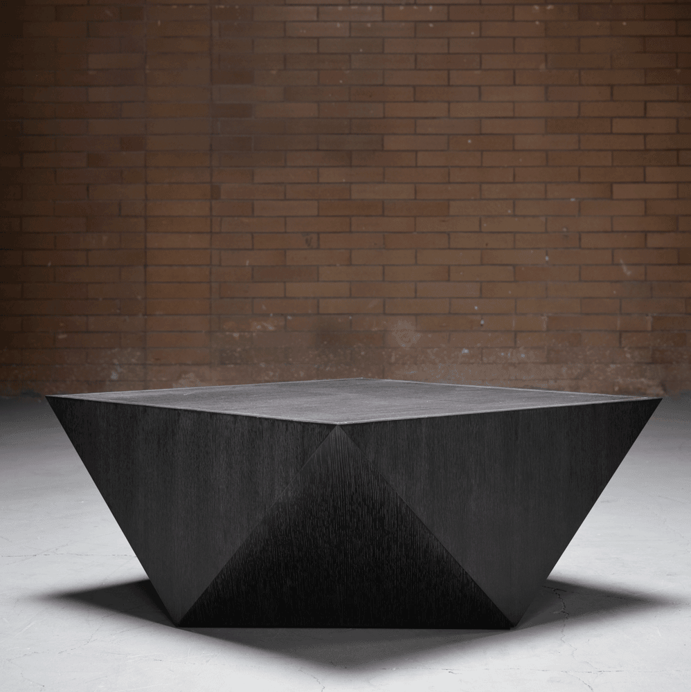 Gavin Coffee Table in Brushed Carbon - Monroe & Kent Home
