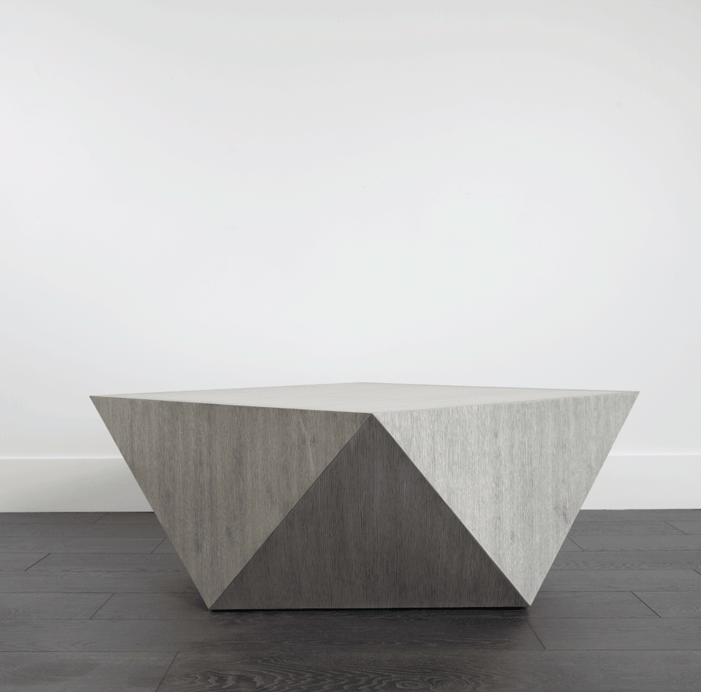 Gavin Coffee Table in Brushed Smoke - Monroe & Kent Home