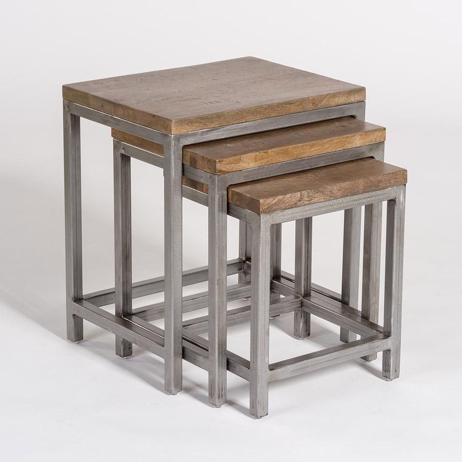 Gramercy Nesting Tables - Monroe & Kent Home (4566910664787)