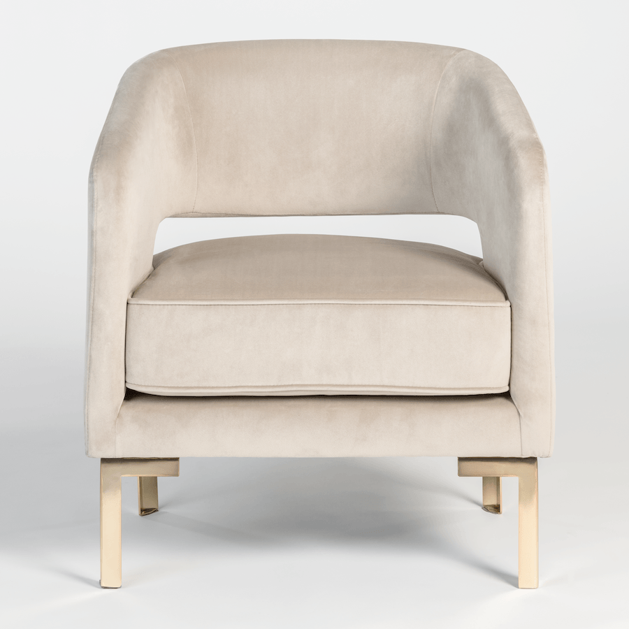 Grayson Occasional Chair - Monroe & Kent Home (4491716460627)