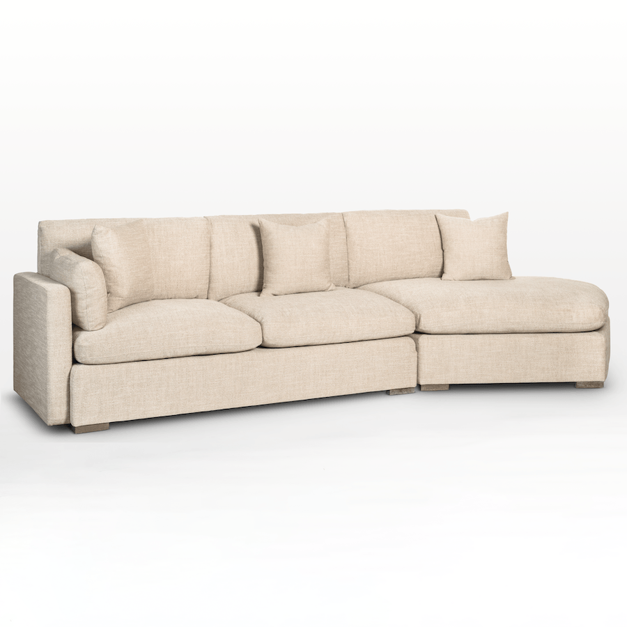 Kayden Sectional – Right Facing Chaise (RAF) - Monroe & Kent Home