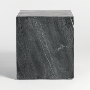 Lennox End Table in Greystone Marble - Monroe & Kent Home (4703859507283)