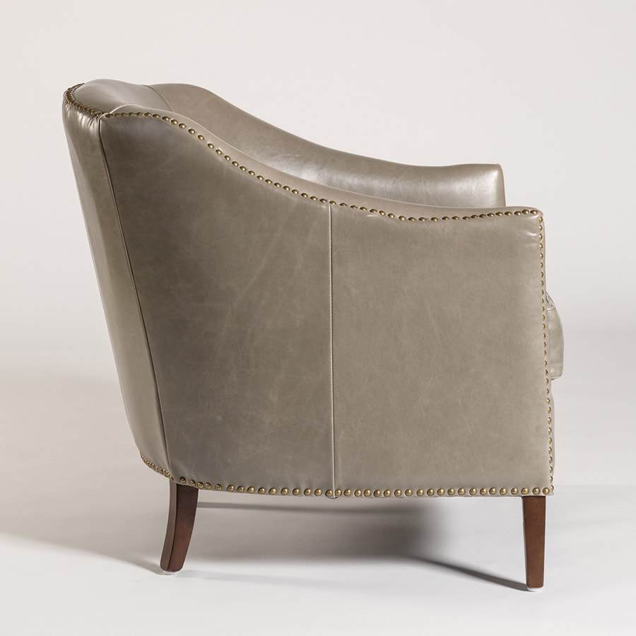 Madison Occasional Chair - London Fog - Monroe & Kent Home