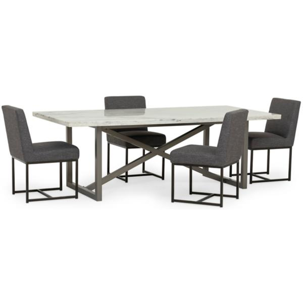 Menlo Park 5-Piece Dining Set - Monroe & Kent Home