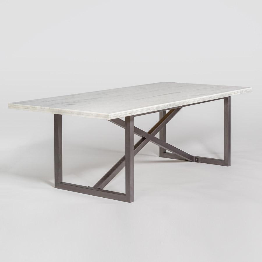 Menlo Park 88″ Dining Table - Monroe & Kent Home