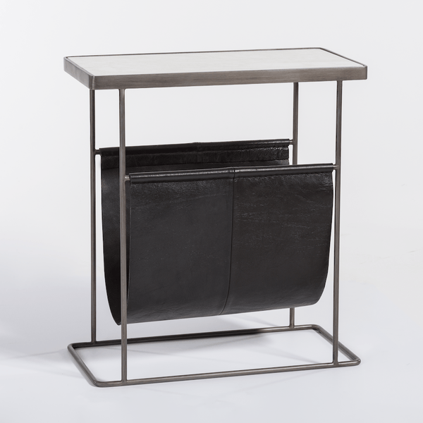 Stanton Accent Table in Aged Obsidian - Monroe & Kent Home (4634542735443)