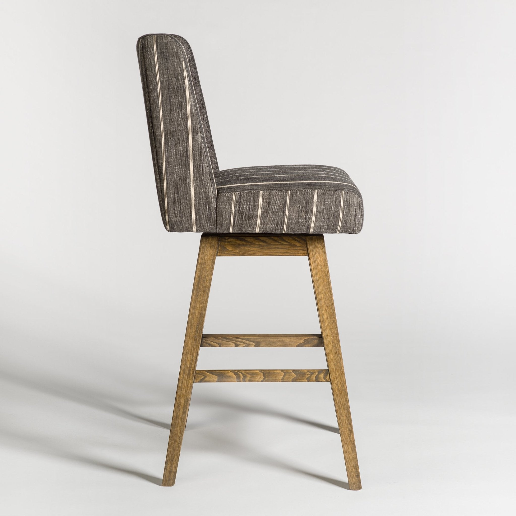 Tribeca Swivel Bar Stool - Monroe & Kent Home (4704270647379)