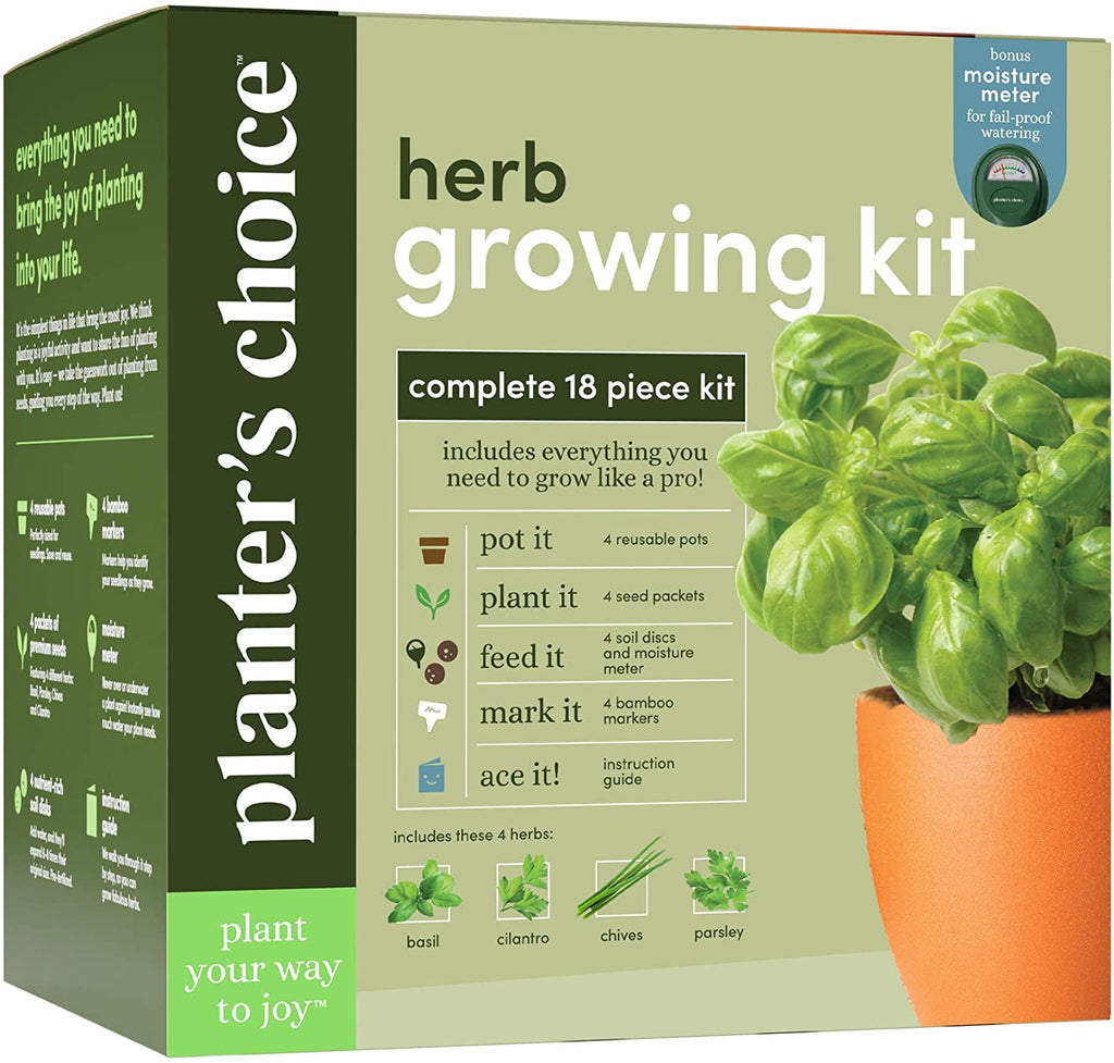 Deluxe Herb Growing Kit
