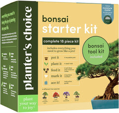Bonsai Starter Kit + Tool Kit
