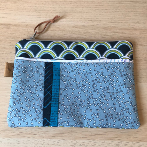 Bookish Claire pouch