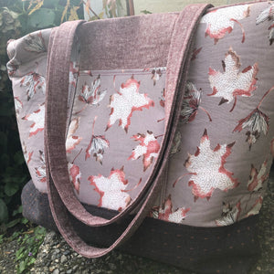 Autumn Leaves Explorer Tote