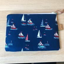 Load image into Gallery viewer, Sailboat Claire pouch