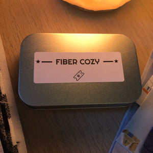 Fiber Cozy Notions Tin