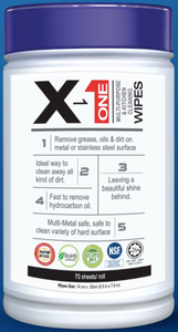 Nexchemie X-1 Multi-purpose and Kitchen Cleaning Wipes