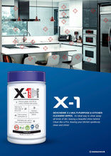 Load image into Gallery viewer, Nexchemie X-1 Multi-purpose and Kitchen Cleaning Wipes