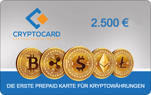 Laden Sie das Bild in den Galerie-Viewer, CRYPTOCARD 2500 €
