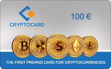 Load image into Gallery viewer, CRYPTOCARD 100 €
