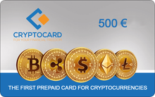 Laden Sie das Bild in den Galerie-Viewer, CRYPTOCARD 500 €