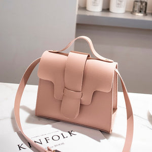 Casual Small Leather Crossbody Bags for Women 2019 Design Women PU Leather Handbags Tote Shoulder Bags Messenger Bolso Mujer - Vipbeautycompany