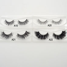 Load image into Gallery viewer, 3D Mink Eyelashes Crossing Mink Lashes Hand Made Full Strip Eye Lashes 34 Styles cilios naturais False Lashes - Vipbeautycompany