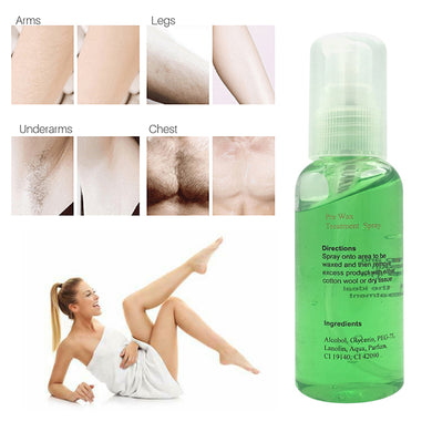 100% Natural Permanent Painless Hair Removal Spray Stop Hair Growth Inhibitor Shrink Pores Skin Smooth Repair Essence TSLM2 - Vipbeautycompany