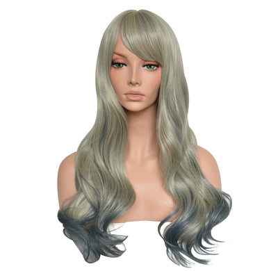 Long Full Fiber Natural Wave Heat Resistant Synthetic Wig - Vipbeautycompany
