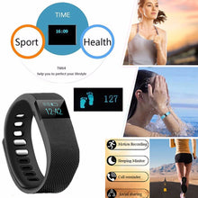 Load image into Gallery viewer, Couple's Sport Watch Digital Rubber Black / Blue / Orange Bluetooth Smart LED Light Analog - Digital Luxury Fashion - Dark Blue Yellow Light Blue One Year Battery Life - Vipbeautycompany
