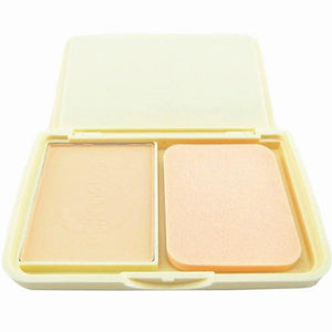 organic lideal soybean 3 color-pressed powder cake 2in1 wet primer makeup-base-dry-loose-finishing-powder-powder-puff-mirror-in - Vipbeautycompany