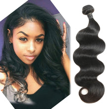 Load image into Gallery viewer, 1 Bundle Brazilian Hair Body Wave Virgin Human Natural Color Hair Bulk 12-30 inch - Vipbeautycompany