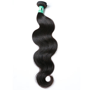 1 Bundle Brazilian Hair Body Wave Virgin Human Natural Color Hair Bulk 12-30 inch - Vipbeautycompany