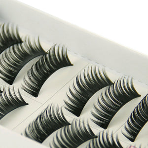 Eyelash Extensions 10 pcs Volumized Eyelash Classic Daily Makeup Cosmetic - Vipbeautycompany