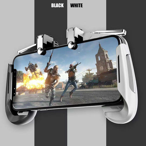 AK16 Pubg Mobile Gamepad Pubg Controller for Phone L1R1 Grip with Joystick/Trigger L1r1 Pubg Fire Buttons for iPhone Android IOS - Vipbeautycompany