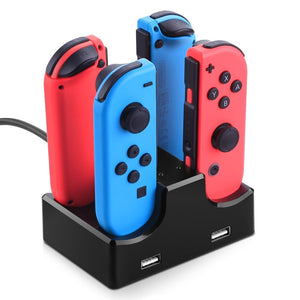switch Type-c Batteries and Chargers For Nintendo Switch ,  Stand with Adapter / Quick-Charging Batteries and Chargers unit - Vipbeautycompany