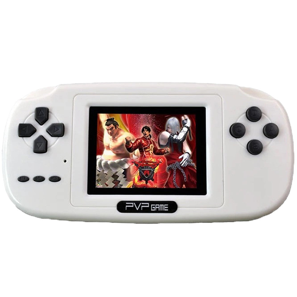 PVP 8 Bit Video Game Console with 200 Games 2.5 TFT screen TV out MP3 MP4. - Vipbeautycompany