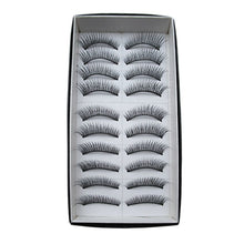 Load image into Gallery viewer, Eyelash Extensions False Eyelashes 20 pcs Volumized / Curly / Extra Long Eyelash Classic Daily Makeup Cosmetic - Vipbeautycompany