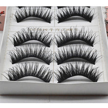 Load image into Gallery viewer, Eyelash Extensions False Eyelashes 10 pcs Lifted lashes Volumized Extra Long Fiber Daily Full Strip Lashes - Makeup Daily Makeup Cosmetic Grooming Supplies - Vipbeautycompany
