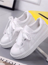Load image into Gallery viewer, Women's Sneakers Creepers Round Toe PU(Polyurethane) Comfort Spring & Summer White - Vipbeautycompany