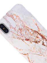 Load image into Gallery viewer, Case For Apple iPhone XS / iPhone XR / iPhone XS Max Pattern Back Cover Marble Hard PC - Vipbeautycompany