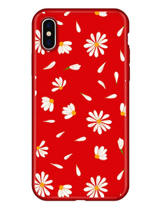 Case For Apple iPhone XS / iPhone XR / iPhone XS Max Pattern Back Cover Flower Soft TPU - Vipbeautycompany