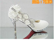 Load image into Gallery viewer, 2019 Beautiful Glitter Wedding Bridal Party Evening Crystal High Heels Women Shoes Sexy Woman Pumps Fashion Bridal Shoes 9 Color - Vipbeautycompany