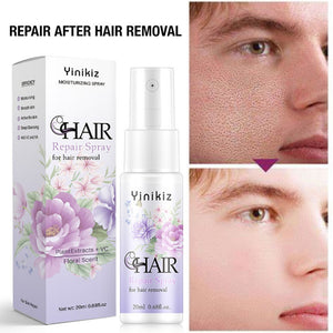 20ML Stop Hair Growth Inhibitor Shrink Pores Skin Smooth Repair Essence Powerful Permanent Painless Hair Removal Spray - Vipbeautycompany
