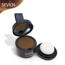 Load image into Gallery viewer, Makeup Hair Line Shadow Powder Eyebrow Powder Extract Easy to Wear Make Up neat symmetry hairline with Mirror Puff Fibers - Vipbeautycompany