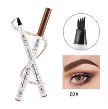 Load image into Gallery viewer, 4 Colors 4 Head eyebrow pencil microblading eyebrow tattoo pen for brwi eyebrows shades makeup cosmetics sourcil eye brow pencil - Vipbeautycompany