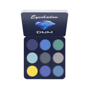 9 Colors Glitter Eyeshadow Makeup Pallete Matte Eye Shadow Palette Shimmer and Shine Diamond Eyeshadow Powder Pigment Cosmetics - Vipbeautycompany