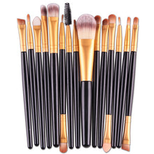 Load image into Gallery viewer, 15Pcs Makeup Brushes Set Eye Shadow Foundation Powder Eyeliner Eyelash Lip Make Up Brush Cosmetic Beauty Tool - Vipbeautycompany