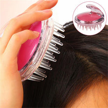Load image into Gallery viewer, Silicone Head Body To Wash Clean Care Hair Root Itching Scalp Massage Comb Shower Brush Bath Spa Slimming Anti-Dandruff Shampoo - Vipbeautycompany