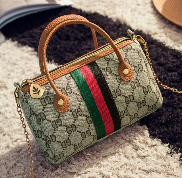 Women Handbag Leather Messenger Bags Female Shoulder Bag Ladies Party Handbags purse crossbody bag - Vipbeautycompany