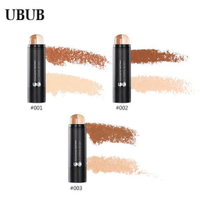 UBUB Brighten Bronzer Highlighter Pen Double Colors Contour Stick Easy to Wear Makeup Foundations Cream Concealer Palette - Vipbeautycompany